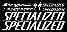 Specialized Stump Jumper New Design Large Set Decals/Stickers (Gloss White)