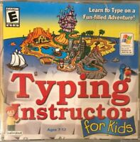 Scholastic Typing Instructor For Kids Windows CD-ROM