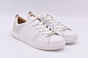 Women's Skechers Moda - Dazzling Dancer Lace Up Sneakers, White, 9