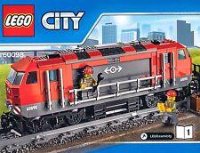 LEGO® City Eisenbahn Diesel Lok Zug Güterzug Train 60098 OHNE Power Functions