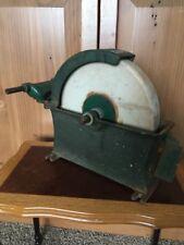 "VTG Montgomery Ward 04F0891A 10"" Wet Grinding Wheel Sharpening Stone Axe Rare!"