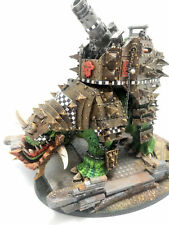 WARHAMMER FORGE WORLD ORK ARMY squiggoth warharmmer 40k With special base PAINT