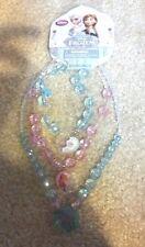 Disney Store Frozen Elsa and Anna Necklace Bracelet Set NEW