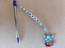 Personalizado De 3DS/2DS Stylus Pen con Encanto Capitán América Azul de la pluma