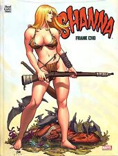 Shanna 1 HC Variant German Frank Cho Deluxe Hardcover + Exclusive Signed ARTPRINT