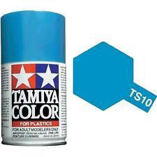 Tamiya TS-10 FRENCH BLUE  Spray Paint Can  3.35 oz. (100ml) 85010