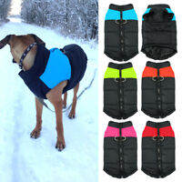 Waterproof Dog Winter Coat Small Large Clothes Pet Jacket for Cold Weather S-7XL