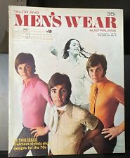 Tailor and Men's Wear Australasia, vol. 25, no. 8, August 1970, fashion, sewing