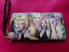 NEW Marilyn Monroe Photo Montage Wristlet/Wallet