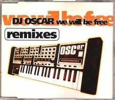 DJ Oscar - We Will Be Free (Remixes) - CDM - 1997 - House Tech 4TR Omnisonus