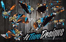 KTM 50 GRAPHICS KIT 2009-2015 DECAL KIT STICKERS GRAPHIC KIT KTM50 2009 DECALS