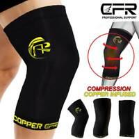 2pcs Compression Knee Sleeve Brace/Running/Arthritis/Joint Support/Tennis/Copper