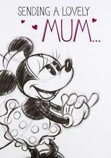 Minnie Mouse Sending A Lovely Mum Birthday Card Disney New Gift