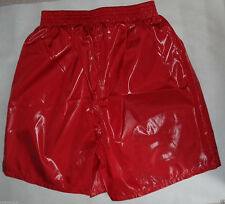 Shiny nylon, Glossy nylon shorts 10 - black, red, navy blue, blue, grey - S-5XL