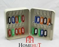 Key Box 20 Safe Security Wall Mounted Hook Cabinet Secure Lock Car Storage Case