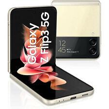Samsung Galaxy Z Flip3 5G Smartphone 128GB Neu vom Händler OVP Cream