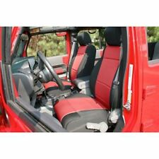 Jeep Wrangler Jk 11-17 Front Seat Covers Black W Red  X 13215.53