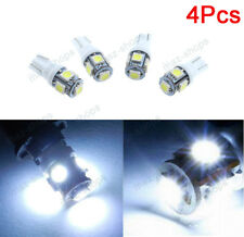 4x White 5-SMD LED T10 Car Front Sidemarker Lamp Bulbs For Infiniti QX56 Q45 M45