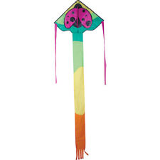 "Kite Ladybug 33"" Single Line Fun Flyer Kite With Winder & String .11.Pr 44225"