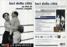 LUCI DELLA CITTA' - C. CHAPLIN - 2 DVD (NUOVO SIGILLATO)