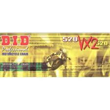 CADENA DID 520vx2gold para HUSQVARNA TE410 ACERO AÑO fabricación 98-01