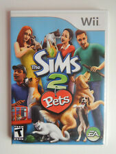 The Sims 2: Pets Game Complete! Nintendo Wii two