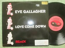 """Eve Gallagher Love Come Down Label: More Protein PROT 6-12 UK 12"""" Vinyl Single"""