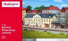 "Auhagen 11346 H0 - Bahnhof "" Klingenberg- Colmnitz "" NEU & OvP"