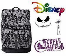 Disney Pesadilla Antes de Navidad Calabaza rey Terciopelo en relieve de Cuero Fruncido Mochila