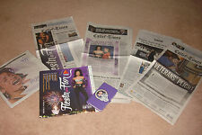 SELENA QUINTANILLA PEREZ - SOLD OUT FIESTA DE LA FLOR WEEKEND NEWSPAPERS LOOK!