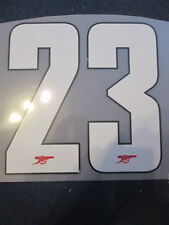 N. 23 Arsenale 2012-2013 CHAMPIONS LEAGUE HOME FOOTBALL SHIRT SET NAME NUMBER