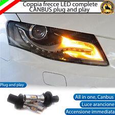 COPPIA LAMPADE FRECCE ANTERIORI 10 LED PER AUDI A4 B8 CON BIXENON PH24WY CANBUS