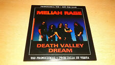 Meliah Rage - Death Valley Dream ** Promo CD ** Flotsam and Jetsam, Metal Church