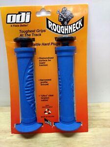 ODI Roughneck BMX Handgrips Blue Grips Powerlite GT Haro Dyno Redline Schwinn
