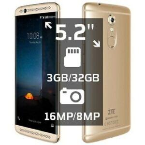 ZTE Axon 7 mini B2017G 32GB Unlocked Smartphone Gold 3GB 8 core Great Condition