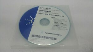 Agilent 34970A Product Reference CD 34830-13601