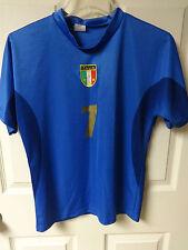 Vintage Italy Allessandro Del Piero # 7 Futbol Soccer Jersey Size Youth 10 Med