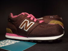 Baby NEW BALANCE 574 TD BACKPACK BROWN WHITE PINK BLACK KL574CRI DS NEW 7.5C 7.5