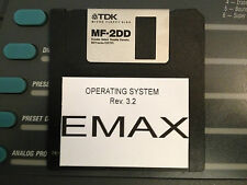 EMU Emax Sampler Operating System 3.2