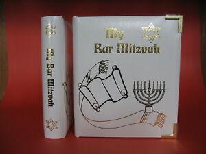 Leather Bar Mitzvah Double DVD -  CD Album Holder Case