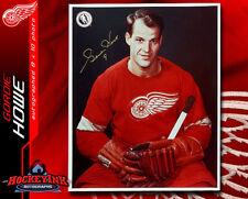 Gordie Howe SIGNED Detroit Red Wings 8 x 10 Photo -70071