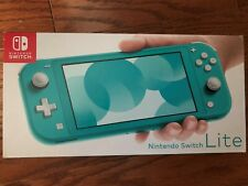 Brand New Nintendo Switch Lite Handheld Console 32GB Turquoise in Hand j