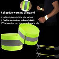 1 Sport Sicherheit reflektierende  Gürtel strap night running glowing Armb ei