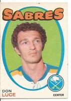 1971-72 OPC O-Pee-Chee Don Luce #166 (Excellent)