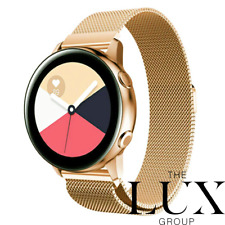 Samsung Galaxy Watch Active2 SMR830 40mm Stainless Steel 24k Gold Plated Custom