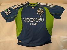 ADIDAS Seattle Sounders FC MLS Soccer Football Jersey Kids Medium