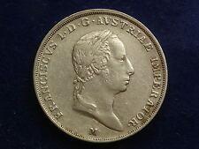 1/2 Scudo 1824 M Franz I. Mailand W/16/1034