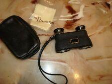 Vintage Bushnell 3X30 10 degree Binoculars Small Opera Glasses J-B8 J-E55