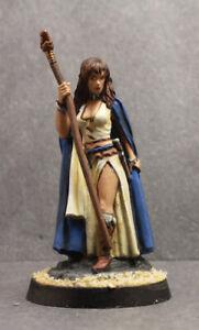 Dark Sword painted miniature Female Mage Sorceress (metal) D&D RPG