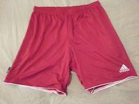 Mens New adidas Shorts XL Red Athletic